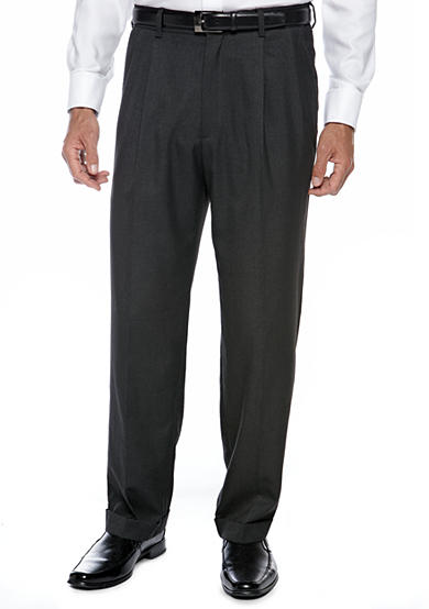 Saddlebred® Classic Comfort Fit Charcoal Suit Separate Pants