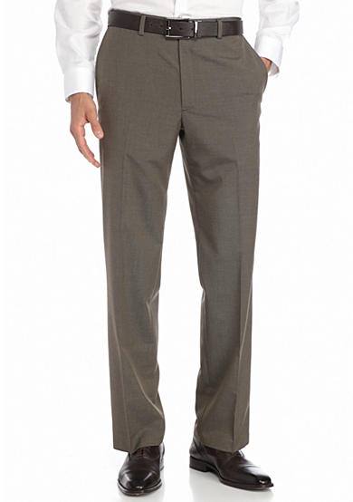 Saddlebred® Classic-Fit Brown Suit Separate Pants