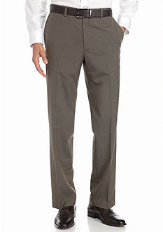 Saddlebred Classic-Fit Brown Suit Separate Pants