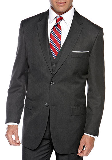 Saddlebred® Classic Comfort Fit Charcoal Suit Separate Coat