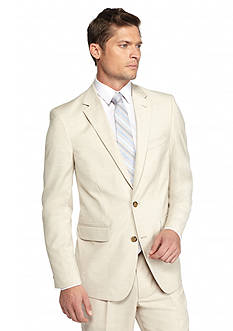 Saddlebred® Big & Tall Classic-Fit Light Tan Sport Coat
