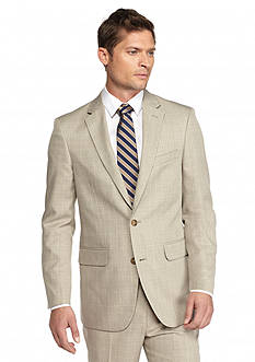 Saddlebred® Tan Plaid Suit Separate Coat