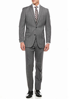 MICHAEL Michael Kors Slim Fit Plaid 2-Piece Suit