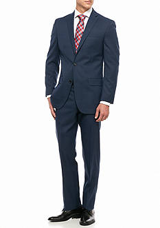 MICHAEL Michael Kors Slim Fit Windowpane 2-Piece Suit