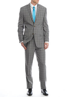 MICHAEL Michael Kors Slim-Fit Plaid Suit