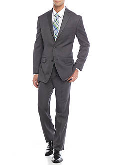 MICHAEL Michael Kors Classic-Fit Tic Black Suit