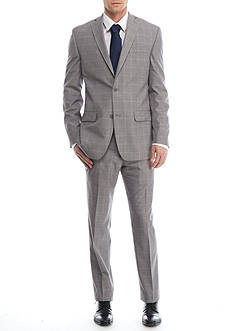 MICHAEL Michael Kors Slim-Fit Windowpane Suit