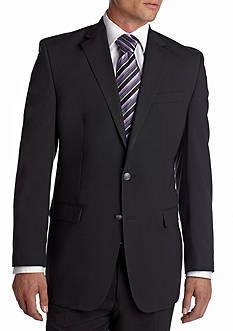 MICHAEL Michael Kors Classic Fit Solid Black Blazer