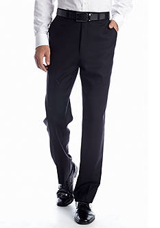 MICHAEL Michael Kors Classic Fit Black Solid Suit Separate Pants