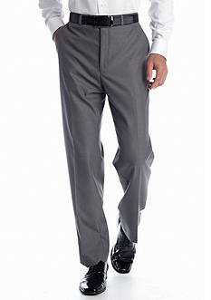 MICHAEL Michael Kors Classic Fit Gray Pin Stripe Pants