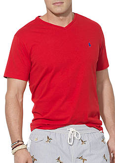 Polo Ralph Lauren Big & Tall Classic-Fit Jersey V-Neck Tee