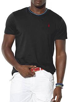 Polo Ralph Lauren Big & Tall Classic-Fit Jersey V-Neck Tee