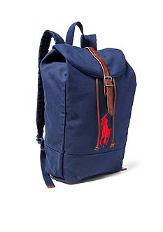 Polo Ralph Lauren Big Pony Canvas Backpack