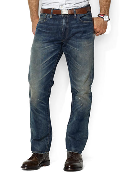 Polo Ralph Lauren Varick Slim-Fit Stratford-Wash Jeans