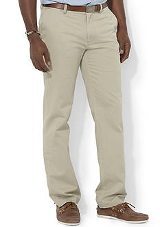 Polo Ralph Lauren Big & Tall Classic Fit Chino Flat Front Pants