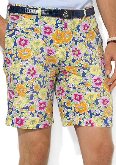 Polo Ralph Lauren Custom-Fit Poplin Floral Shorts