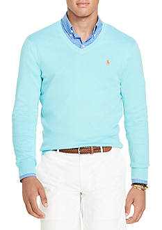 Polo Ralph Lauren Slim-Fit Pima Cotton Sweater