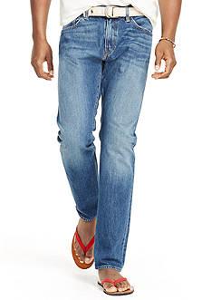 Polo Ralph Lauren Hampton Straight-Fit Cedar-Wash Jean