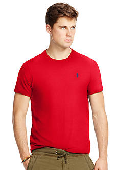 Polo Ralph Lauren Custom-Fit Jersey Crewneck Tee