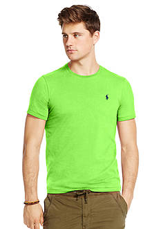 Polo Ralph Lauren Custom-Fit Jersey Crew Neck Tee