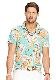 Polo Ralph Lauren Luau-Print Jersey Estate Shirt