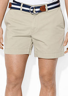 Polo Ralph Lauren Classic-Fit Flat-Front 6 Chino Short