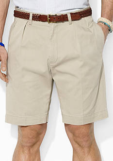 Polo Ralph Lauren Classic-Fit Pleated 9 Chino Short