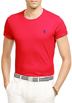Polo Ralph Lauren Custom Fit Jersey Crew Neck T-Shirt