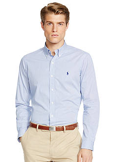 Polo Ralph Lauren Slim-Fit Striped Poplin Shirt