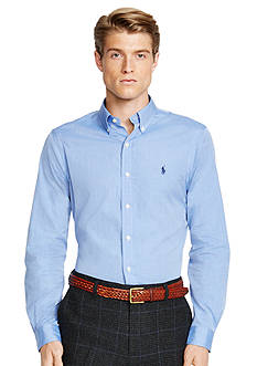 Polo Ralph Lauren Slim-Fit End-on-End Poplin Shirt