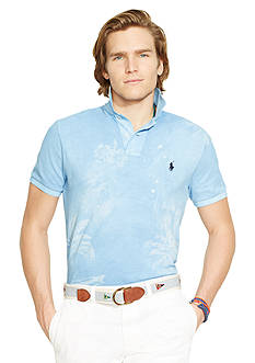 Polo Ralph Lauren Custom-Fit Tropical-Print Polo Shirt