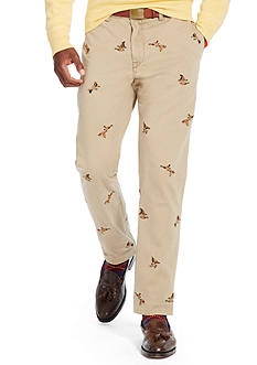 Polo Ralph Lauren Straight-Fit Embroidered Bedford Chino Pant