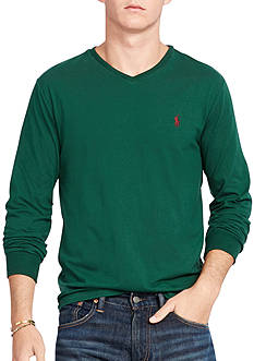 Polo Ralph Lauren Long-Sleeve V-Neck T-Shirt