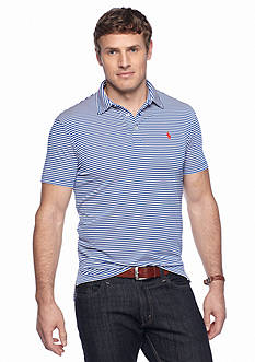 Polo Ralph Lauren Striped Performance Jersey Polo Shirt
