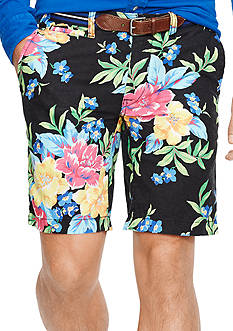 Polo Ralph Lauren Straight-Fit Floral Maritime Shorts