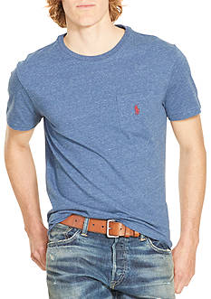 Polo Ralph Lauren Jersey Pocket Crew Neck Tee
