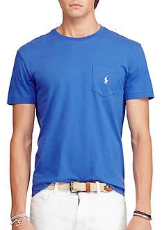 Jersey Pocket Crewneck T-Shirt