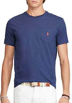 Jersey Pocket Crewneck T-Shirt