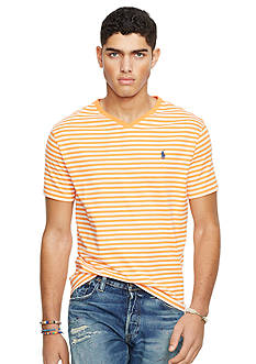 Polo Ralph Lauren Striped Cotton V-Neck Tee