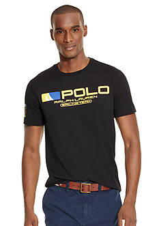 Polo Ralph Lauren Custom-Fit Sailing-Print Graphic Tee