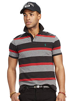 Polo Ralph Lauren Classic-Fit Multi-Striped Mesh Polo Shirt