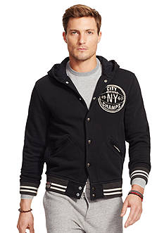 Polo Ralph Lauren Hooded Baseball Jacket