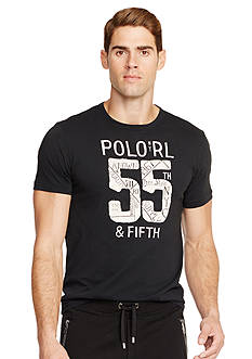 Polo Ralph Lauren Jersey Crewneck Graphic Tee
