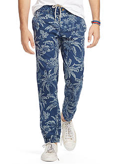 Polo Ralph Lauren Straight-Fit Printed City Jogger Pants