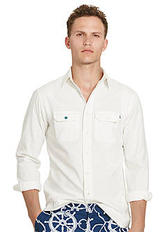 Polo Ralph Lauren Mended Chambray Workshirt