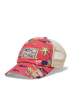 Polo Ralph Lauren Printed Mesh Trucker Hat