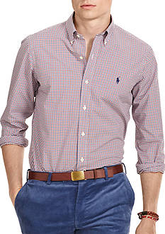 Polo Ralph Lauren Mini-Gingham Poplin Shirt