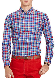 Polo Ralph Lauren Plaid Poplin Shirt