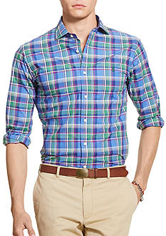 Polo Ralph Lauren Slim-Fit Plaid Estate Shirt