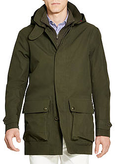 Polo Ralph Lauren Water-Resistant Cotton Coat